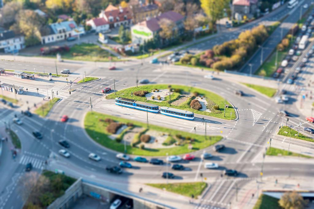 Krakow Trams - Krakow, Poland