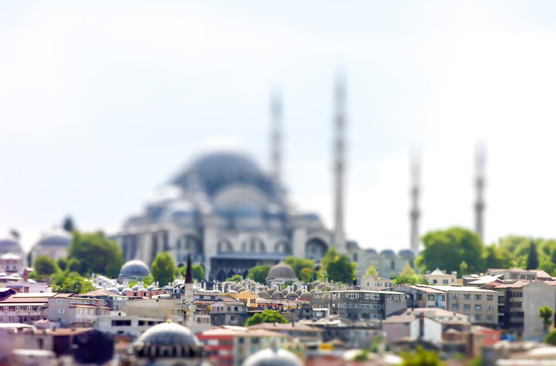 The Sultan Ahmed Mosque - Istanbul, Turkey