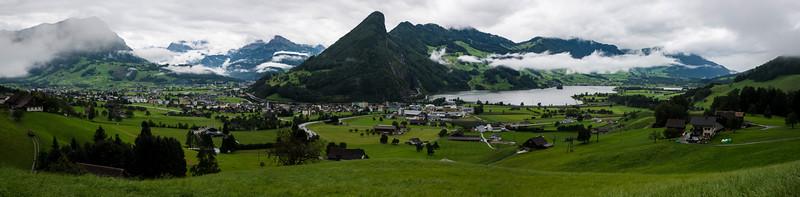 Schwyz Canton Panorama - Switzerland