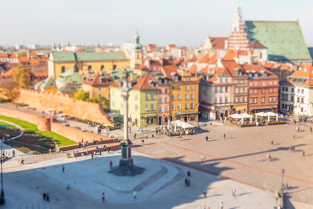 Old Town - Warsaw, Poland