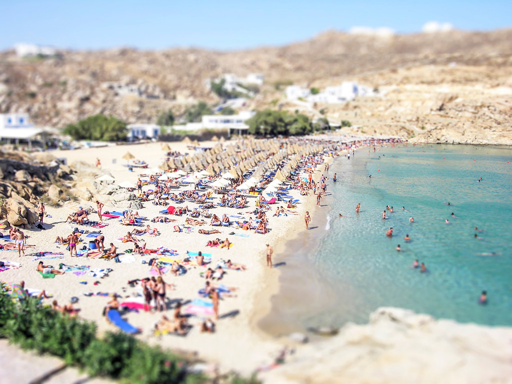 Mykonos Beach - Mykonos, Greece