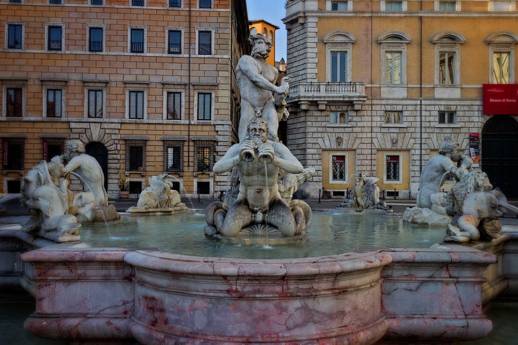 Fountain of Moor (Rome, Italy)