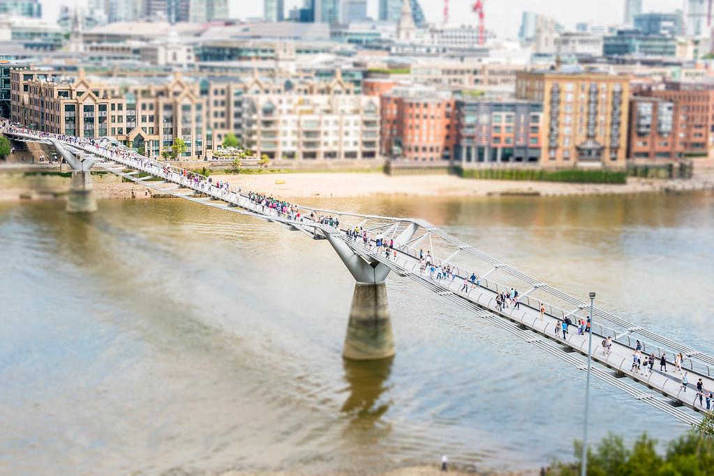 Millinneum Bridge - London, England