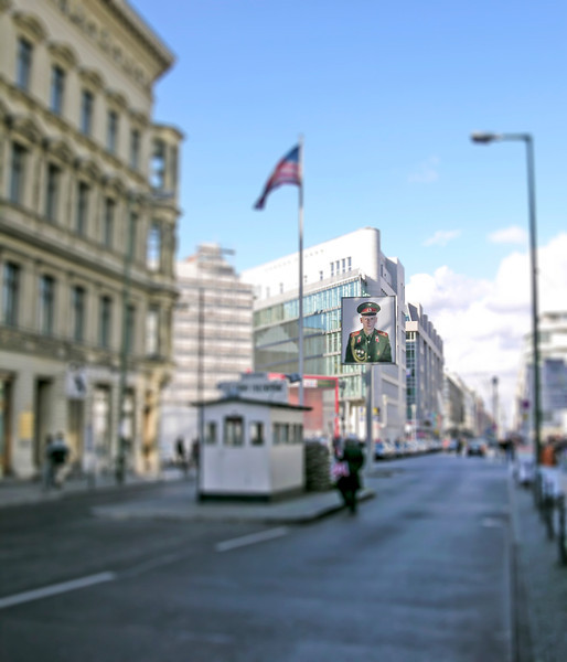 Checkpoint Charlie - Berlin, Germany