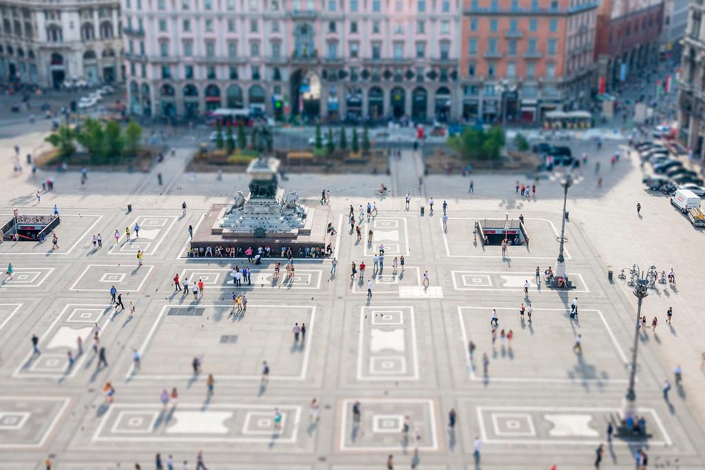 Milan Piazza - Milan, Italy