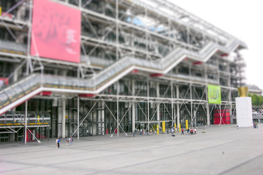 The Pompidou Center - Paris, France