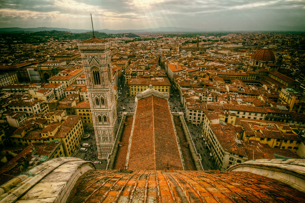 View from the Top of the Cathedral (Florence, Italy)