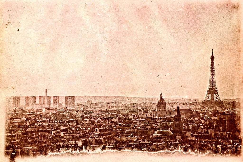A vintage Paris look!