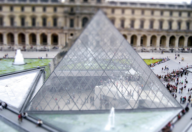 The Pyramid, Louvre - Paris, France