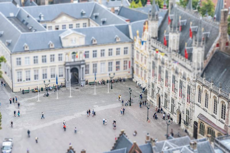 Bruges Square - Bruges, Belgium