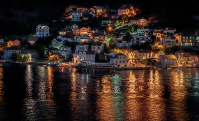 Night Scene in Lepetane