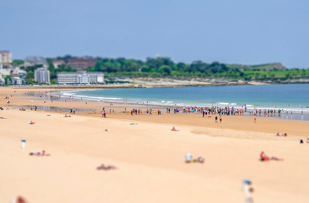 Santander Beach - Santander, Spain