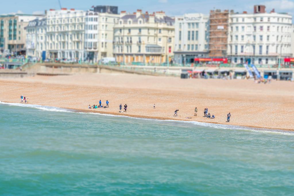 Brighton Beach - Brighton, England
