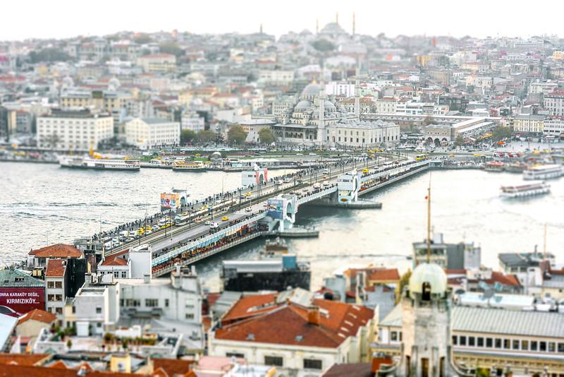 Galata Bridge - Istanbul, Turkey