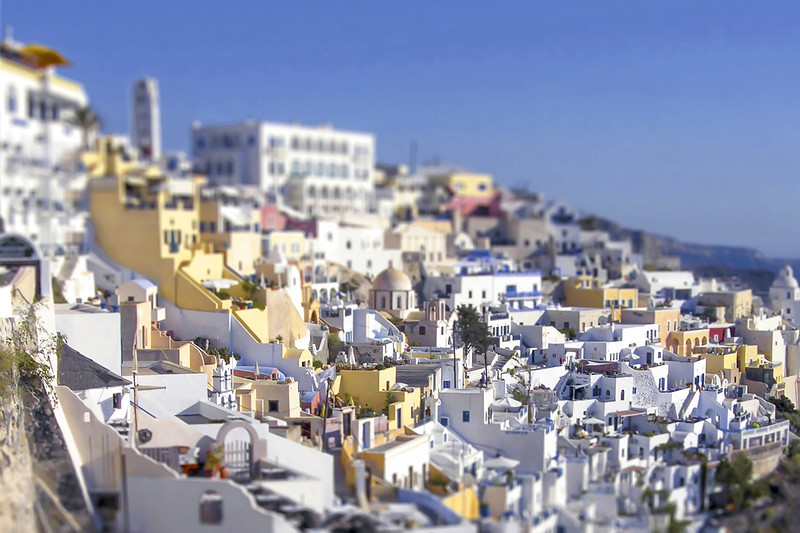 White Houses - Santorini, Greece