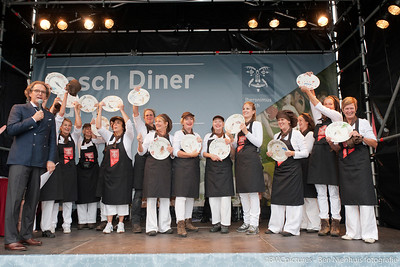 Bosch diner 2011 - Prijsuitreiking