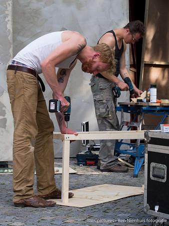 Festival Boulevard 2015 - Opbouw 04