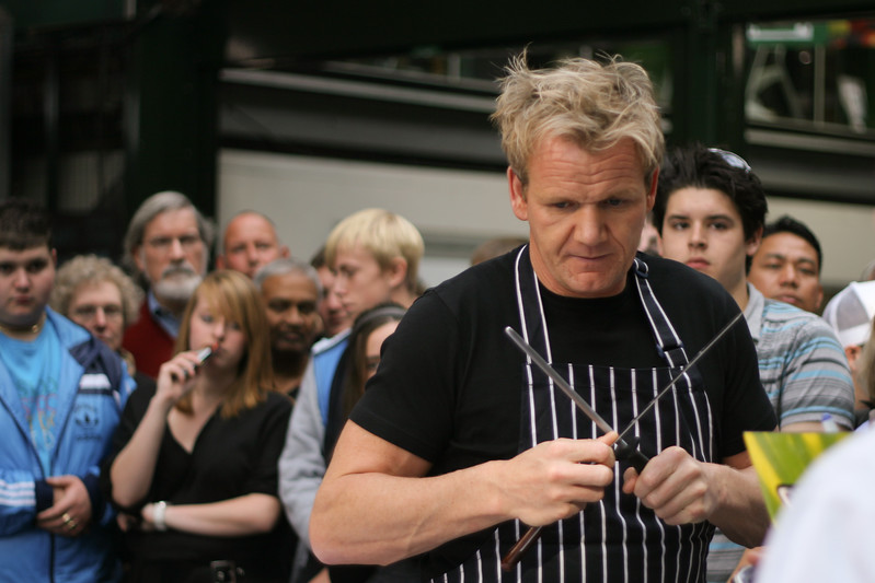 Gordon Ramsay at Borough Market