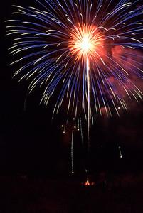 fireworks cb blue