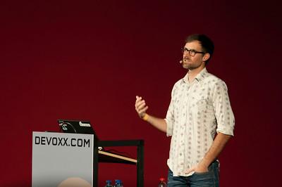 James Ward speaking at Devoxx Antwerp, Belgium 2011