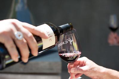 Cade Vineyard Wine Tasting Event, Angwin California