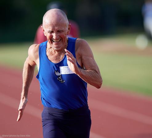 Ray Franks, 100 meters