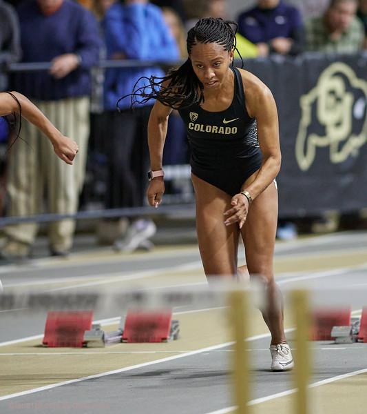 60 meter hurdles - CU Invite