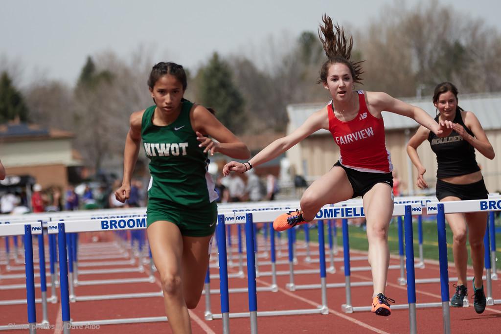 100 meter hurdles