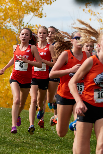 Girls High School Cross Country Regionals