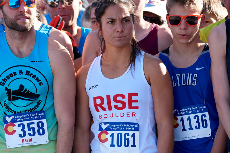 Nell Rojas, start, 2 mile race