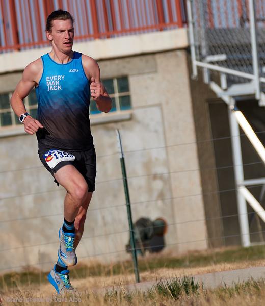 Julian Wheating, winner, 2 mile race