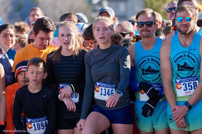 Ellie Schweiker, 2 mile start