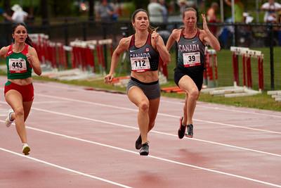 100 meter semifinals