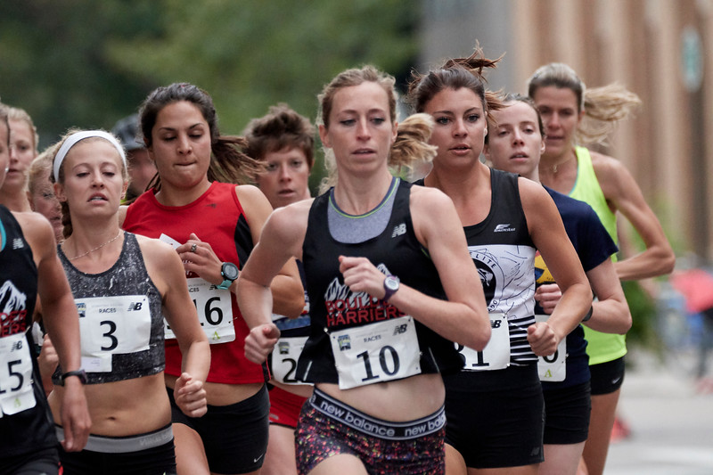 Elite Women, Pearl Street Mile