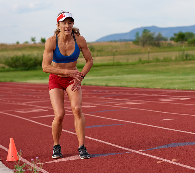 Rose Wetzel - Backwords Mile World Record Attempt