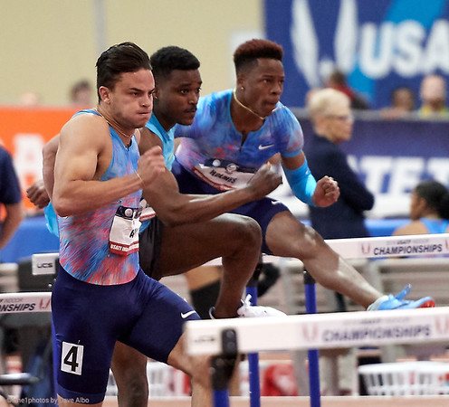 60 meter hurdles semi final