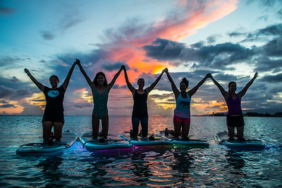 Yoga Floats & Glows