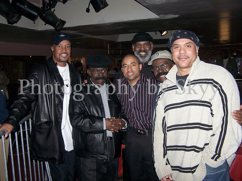 The Whispers and Howard Hewitt
