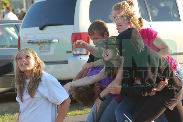 Youth of Integrity Drama Team<br /> Starke County Fair, July 2008