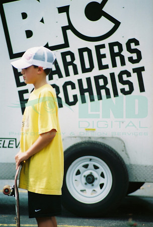 Boarders For Christ, Valpo Methodist Block Party<br /> June 2006