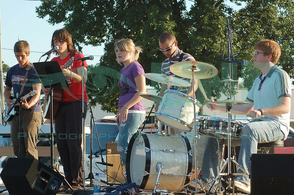 Youth of Integrity Band at Starke County Fair<br /> July, 2008