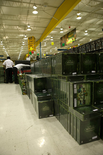 World of Warcraft - The Burning Crusade release event, Fry's Anaheim.<br /> Plenty in stock