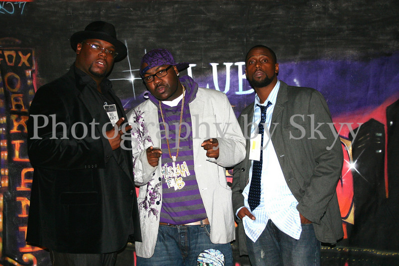 Club shots with Mistah Fab & Prez