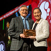 2019 ASH President Roy Silverstein, MD, passes the gavel to 2020 ASH President Stephanie J. Lee, MD, MPH,  during Business Meeting