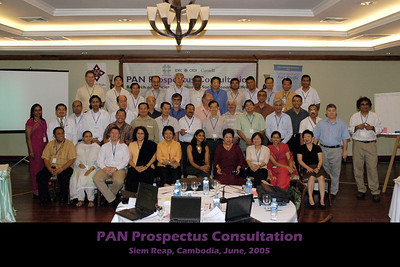 IDRC's PAN Prospectus Consultation in Siem Reap, Cambodia in June 2005.