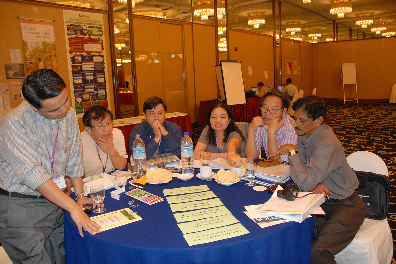 IDRC's PAN Asia R&D Learning Forum organized by AMIC and held on 21-23rd February, 2007 in Singapore.