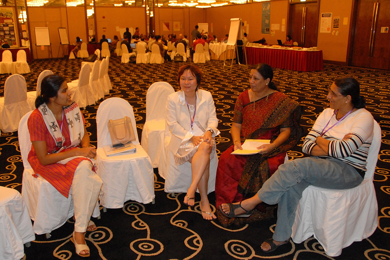 Discussions at IDRC's PAN Asia R&D Learning Forum organized by AMIC and held on 21-23rd February, 2007 in Singapore.