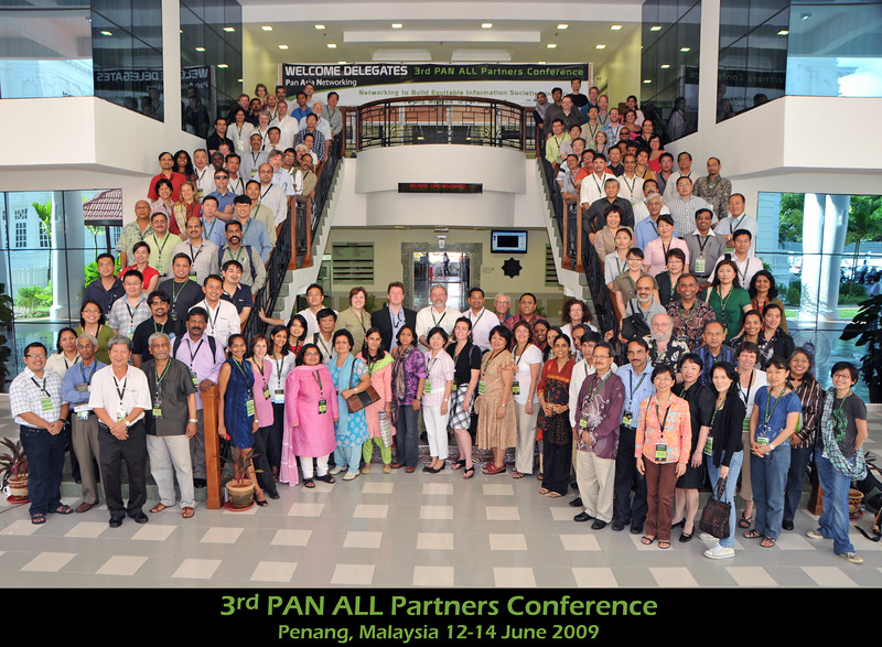 Group Photo @ the IDRC PAN ALL 2009 CONFERENCE, Penang, Malaysia. June, 2009.