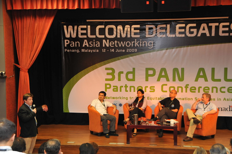 IDRC's PAN Asia Networking conference in Penang, Malaysia.