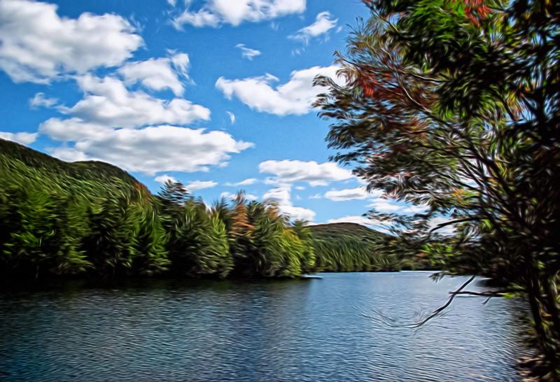 Lake in VT near Killington